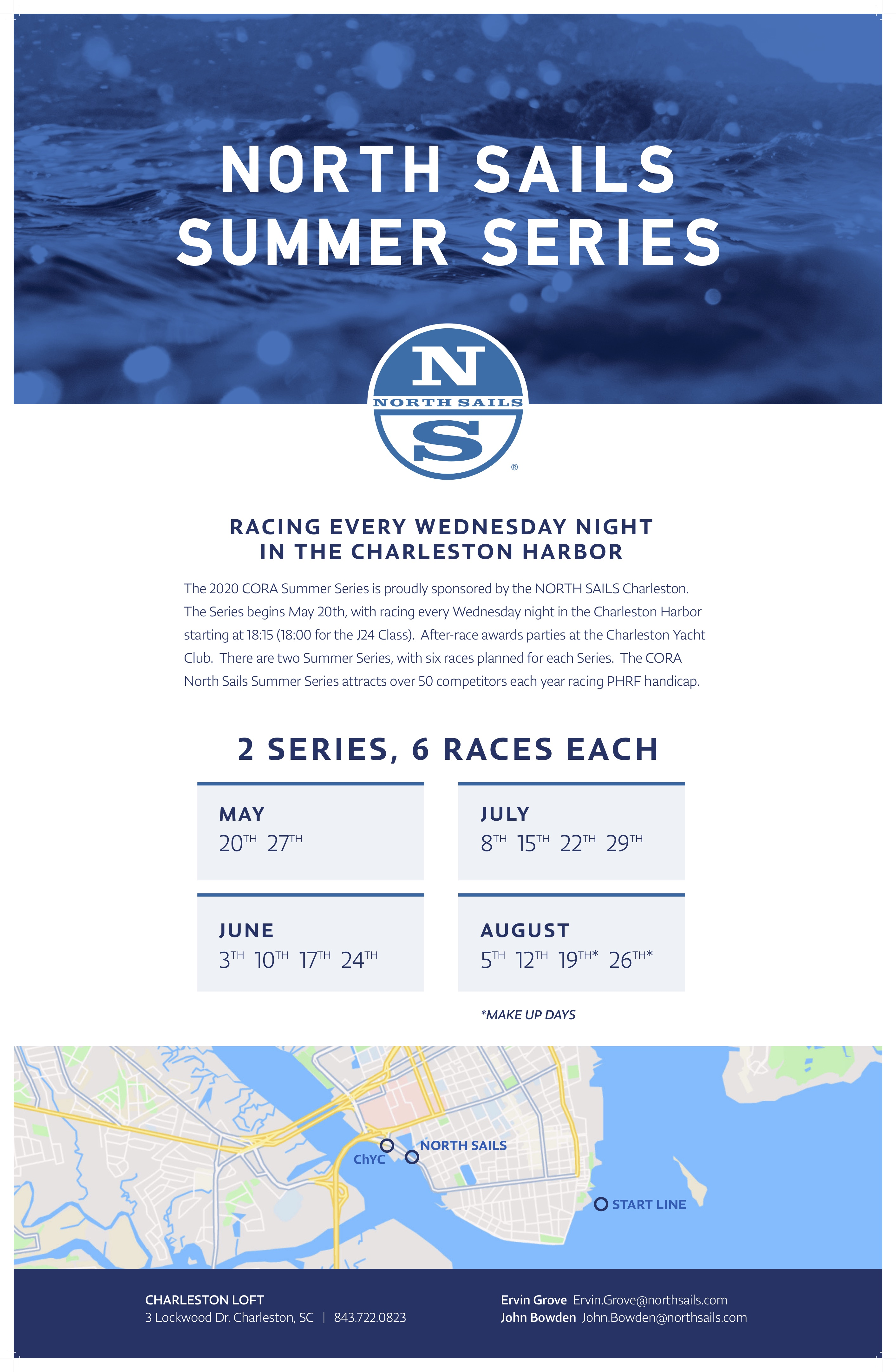 Summer Series Poster North Sails